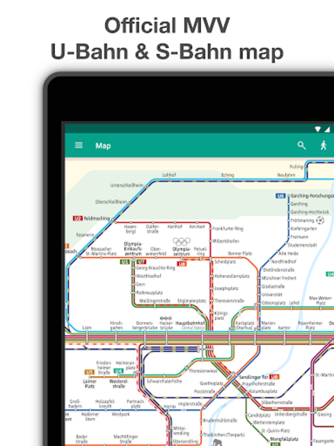 Munich Metro - MVG map and route planner screenshot 7