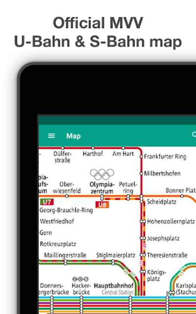 Munich Metro - MVG map and route planner screenshot 11