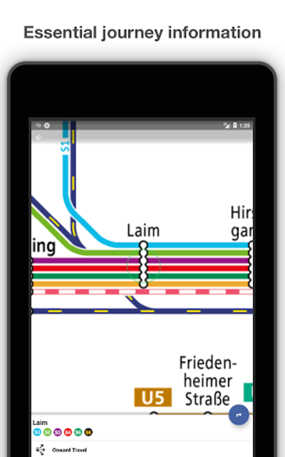 Munich Metro - MVG map and route planner screenshot 12
