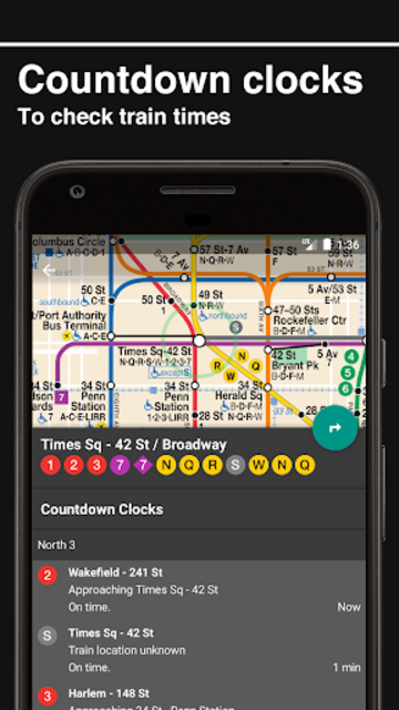New York Subway – Official MTA map of NYC screenshot 5