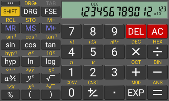 RealCalc Plus screenshot 8