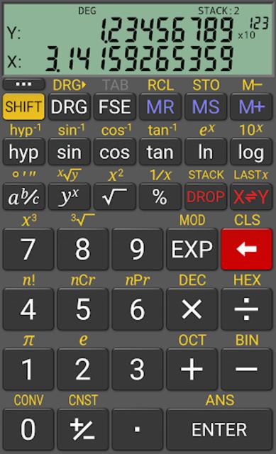 RealCalc Plus screenshot 2