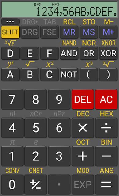 RealCalc Plus screenshot 3