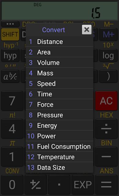 RealCalc Plus screenshot 6