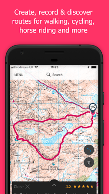 OS Maps screenshot 2