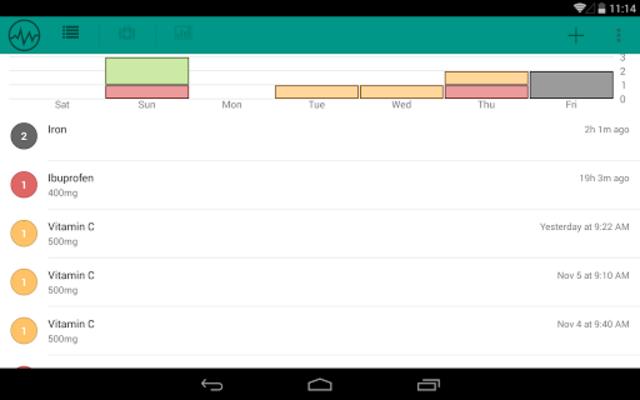 Pill Logger - Meds Tracker screenshot 10