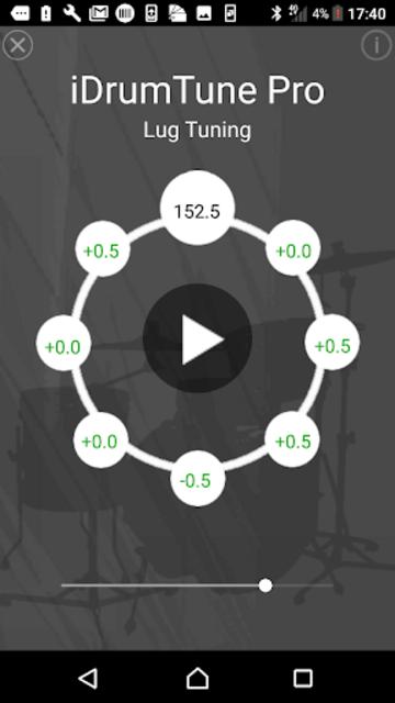 Drum Tuner - iDrumTune Pro screenshot 2