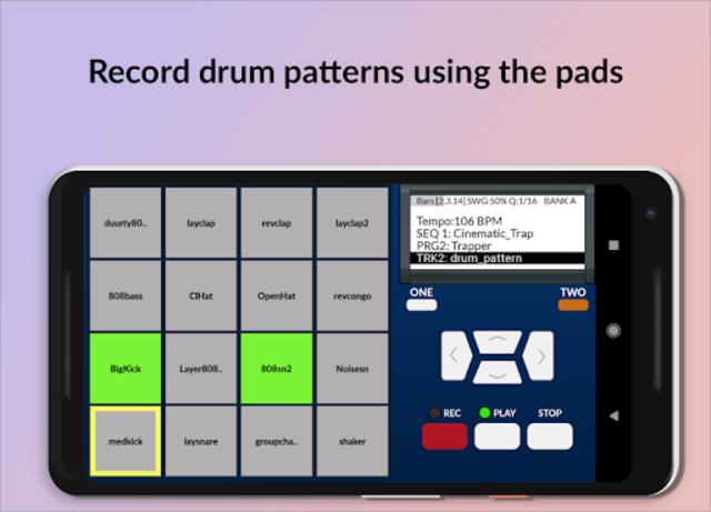 MPC MACHINE - Sampler Drum Machine Beat Maker screenshot 1