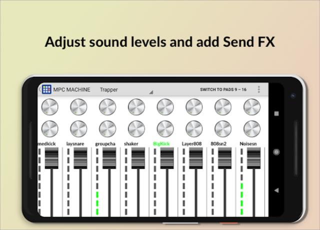 MPC MACHINE - Sampler Drum Machine Beat Maker screenshot 3