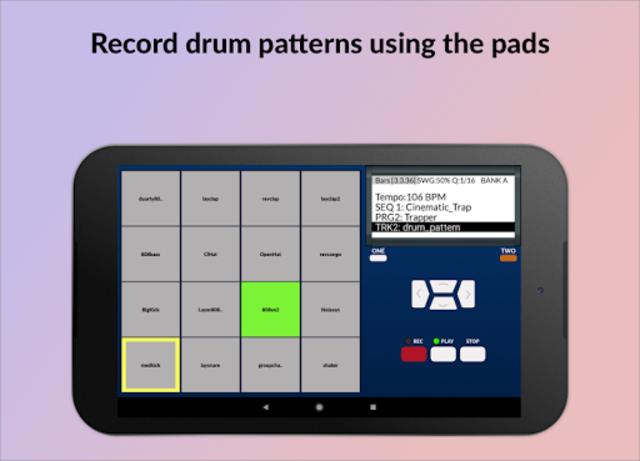 MPC MACHINE - Sampler Drum Machine Beat Maker screenshot 9