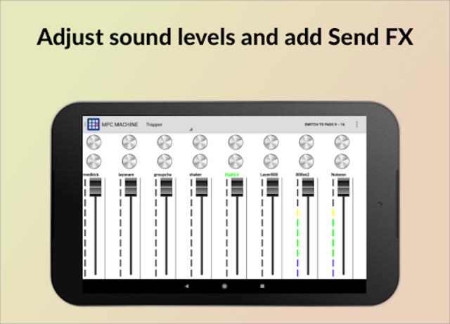 MPC MACHINE - Sampler Drum Machine Beat Maker screenshot 11