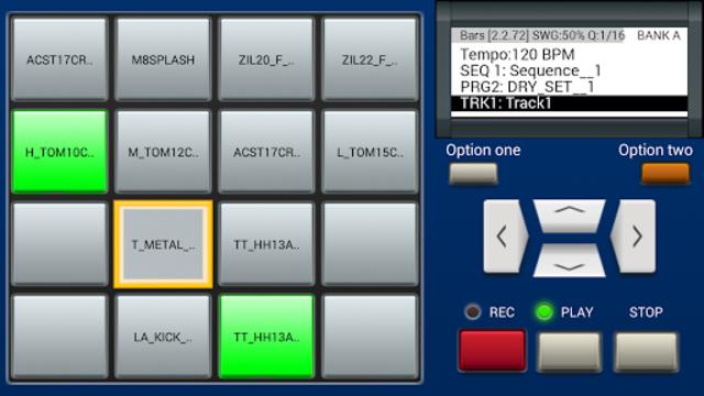 MPC MACHINE DEMO -Sampler Drum Machine Beat Maker screenshot 1