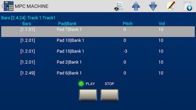 MPC MACHINE DEMO -Sampler Drum Machine Beat Maker screenshot 2
