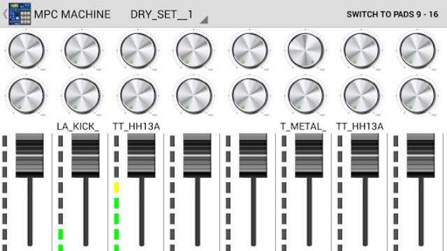 MPC MACHINE DEMO -Sampler Drum Machine Beat Maker screenshot 3