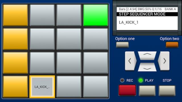 MPC MACHINE DEMO -Sampler Drum Machine Beat Maker screenshot 8
