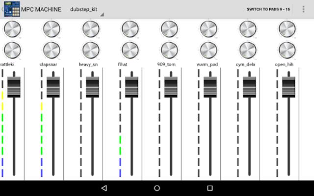 MPC MACHINE DEMO -Sampler Drum Machine Beat Maker screenshot 12