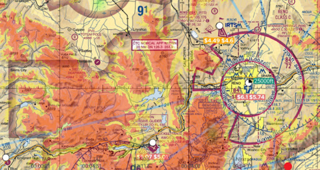 AvNav: Aviation Maps, w/Wx, Traffic and Terrain screenshot 4