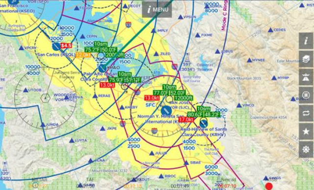 AvNav: Aviation Maps, w/Wx, Traffic and Terrain screenshot 7