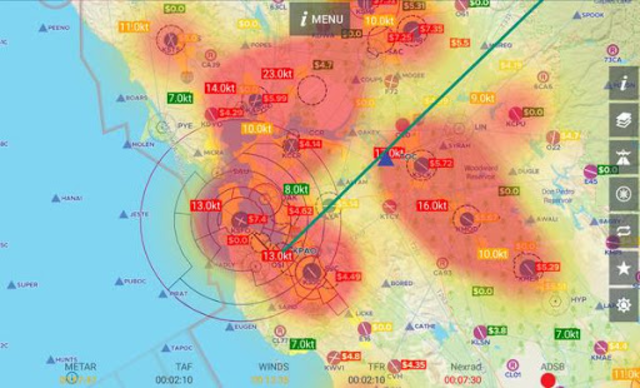 AvNav: Aviation Maps, w/Wx, Traffic and Terrain screenshot 8