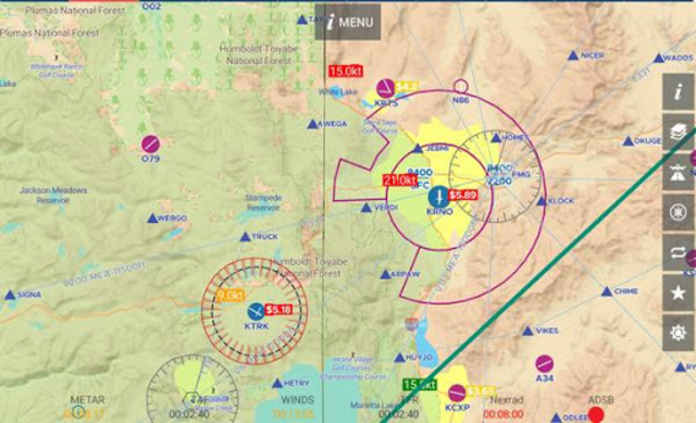 AvNav: Aviation Maps, w/Wx, Traffic and Terrain screenshot 15