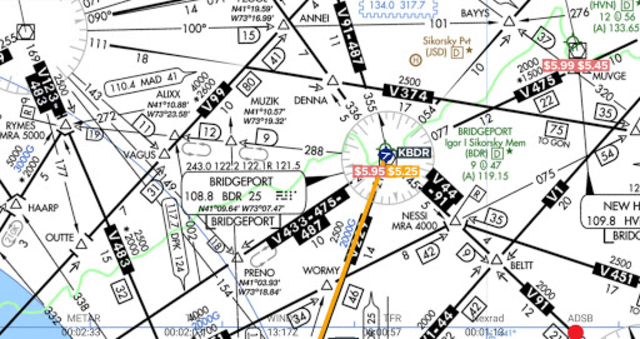 AvNav: Aviation Maps, w/Wx, Traffic and Terrain screenshot 3