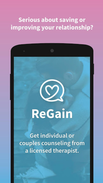 ReGain - Couples Counseling and Therapy screenshot 1