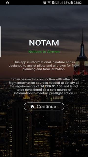 Ultimate NOTAMs screenshot 1