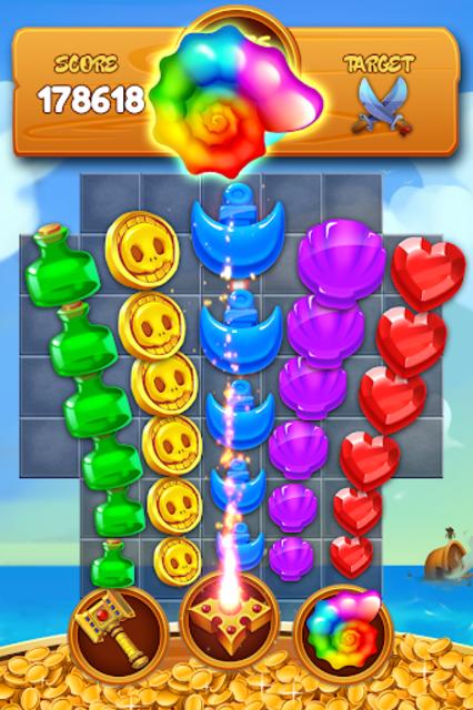 Jewel Crush Pirate screenshot 3