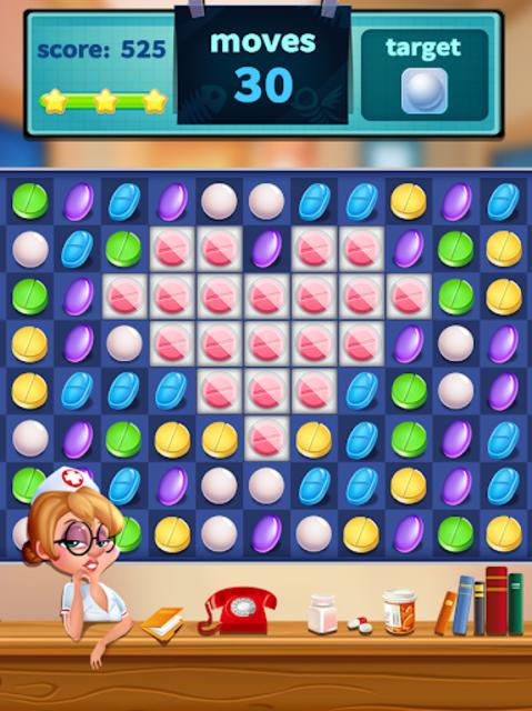 Tiny Hospital Match Puzzle screenshot 2