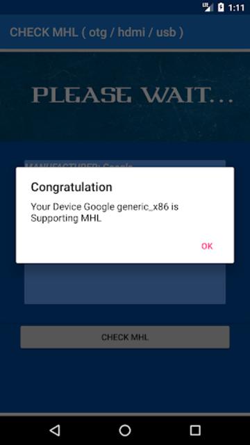 CHECK MHL ( Otg / Hdmi / Usb ) screenshot 4