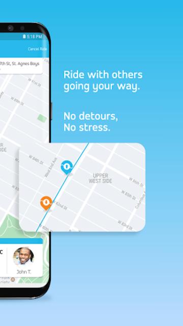 Via - Affordable Ride-sharing screenshot 3