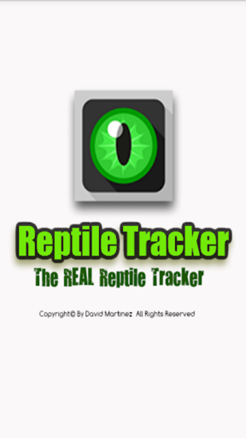 Reptile Tracker - The REAL Reptile Tracker! screenshot 1