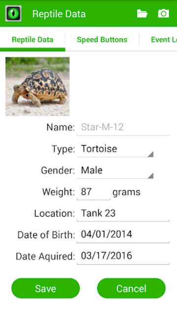 Reptile Tracker - The REAL Reptile Tracker! screenshot 3