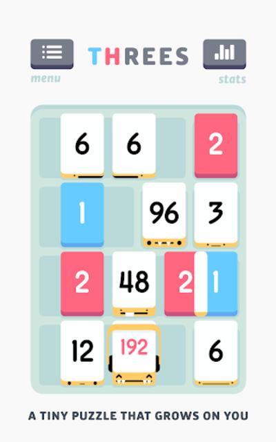 Threes! screenshot 1