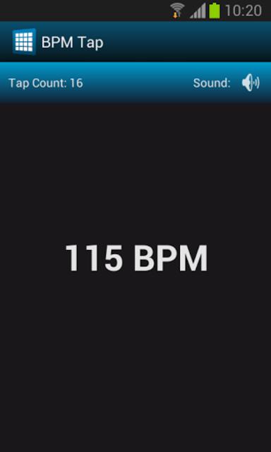 BPM Tap screenshot 2