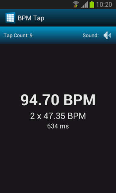 BPM Tap screenshot 3