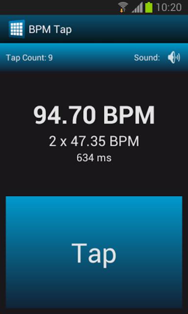 BPM Tap screenshot 4