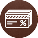 Icon for Discount cards wallet for Gear watch