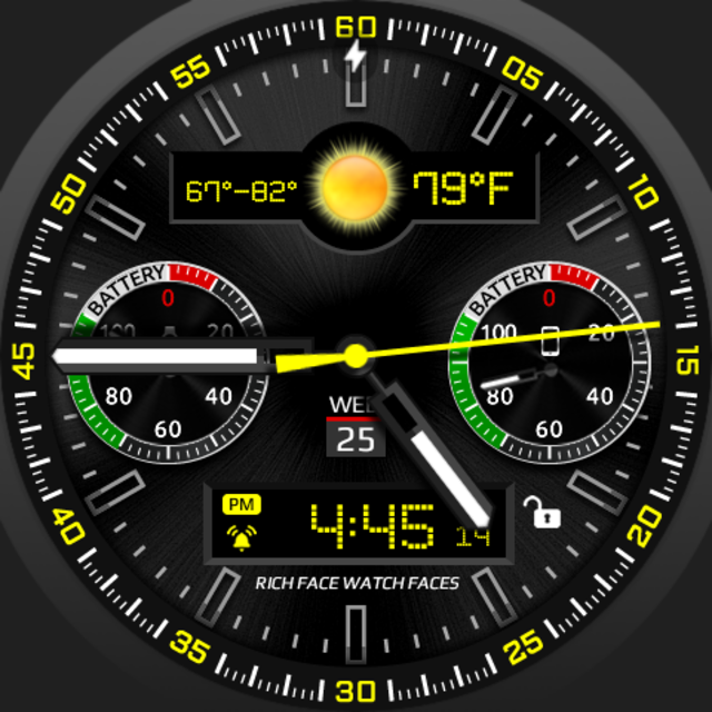 RoverOne Watch Face screenshot 9