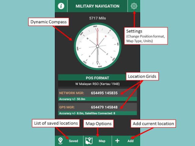 Military Navigation screenshot 1