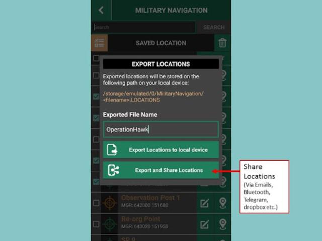 Military Navigation screenshot 3