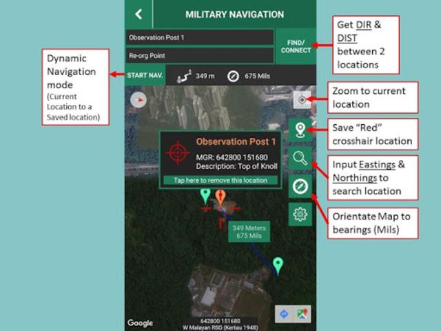 Military Navigation screenshot 5