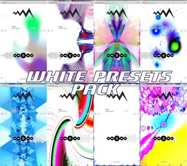 WHITE POWERAMP VISUALIZATION screenshot 2