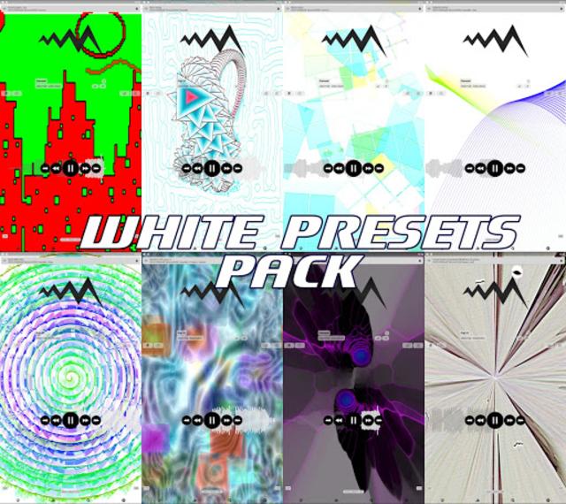 WHITE POWERAMP VISUALIZATION screenshot 3