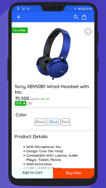 WooCommerce Mobile App with Phone Authentication screenshot 2