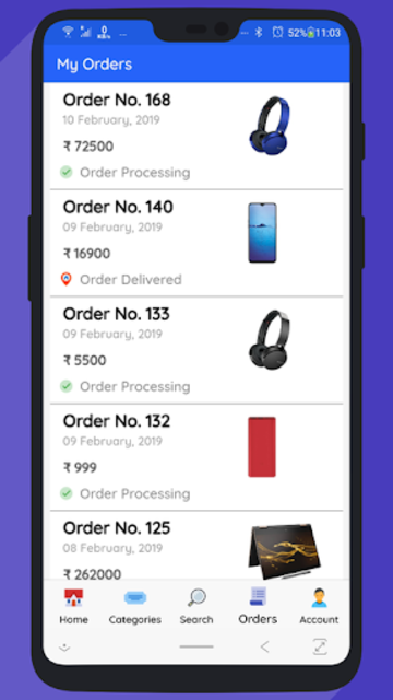 WooCommerce Mobile App with Phone Authentication screenshot 5