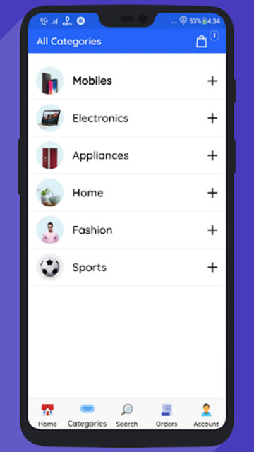 WooCommerce Mobile App with Phone Authentication screenshot 6
