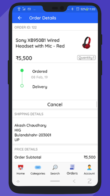 WooCommerce Mobile App with Phone Authentication screenshot 7
