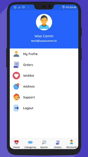 WooCommerce Mobile App with Phone Authentication screenshot 8