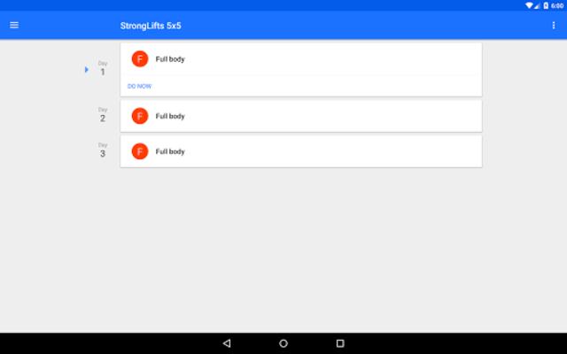 Progression Workout Tracker screenshot 9